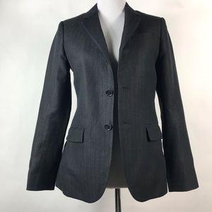 Lucky Brand Women's Black Linen Blazer Size XS